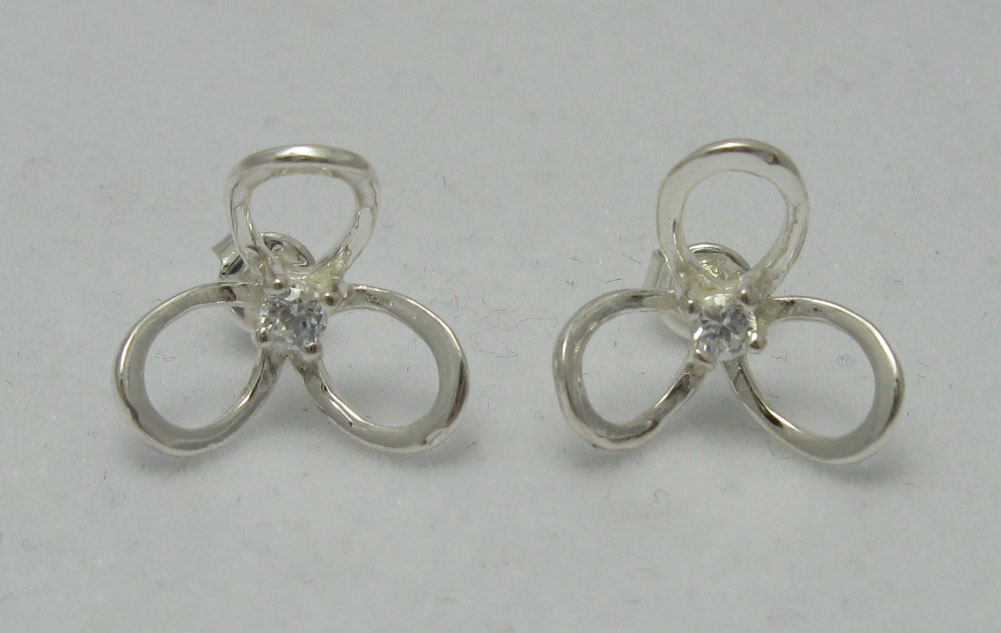 Silver earrings - E000217