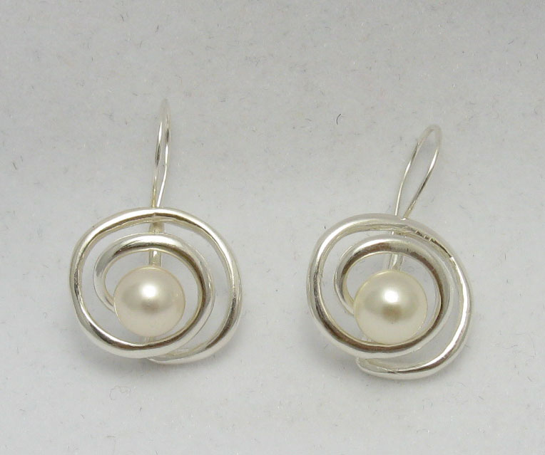 Silver earrings - E000223P