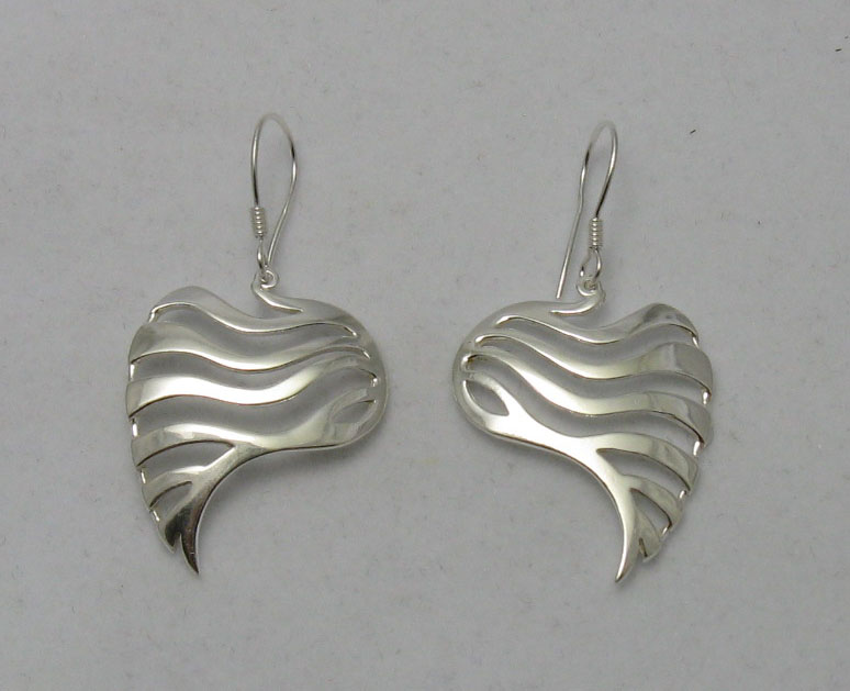 Silver earrings - E000226