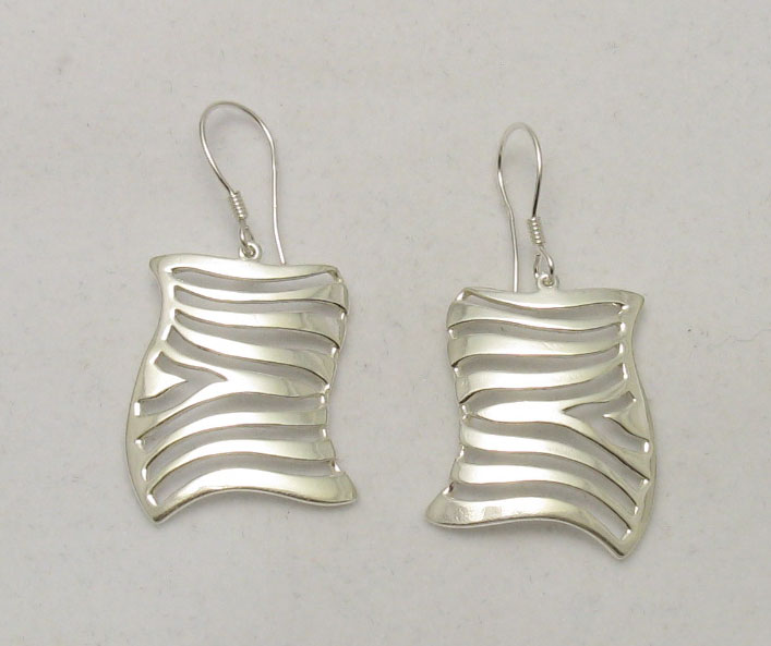 Silver earrings - E000227