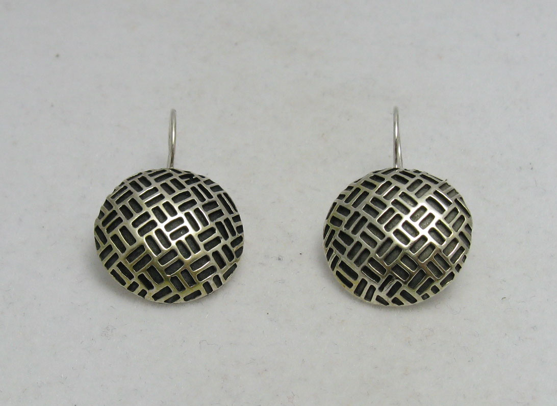 Silver earrings - E000239