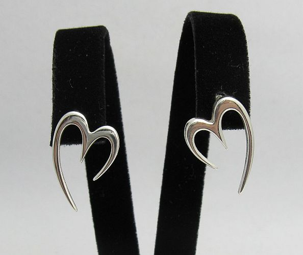 Silver earrings - E000240