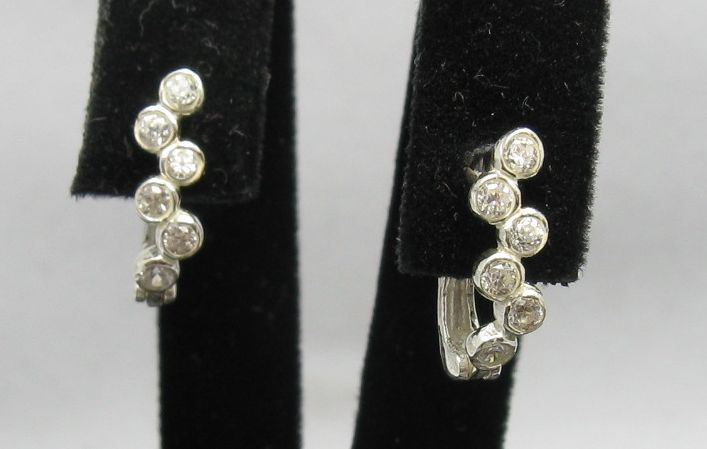 Silver earrings - E000253