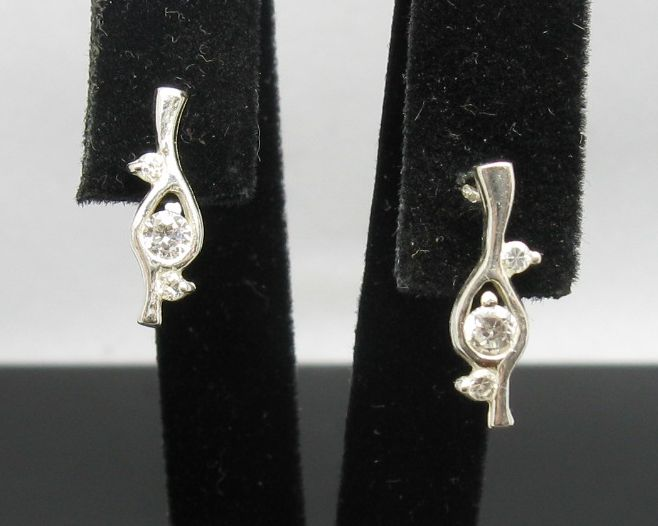Silver earrings - E000254
