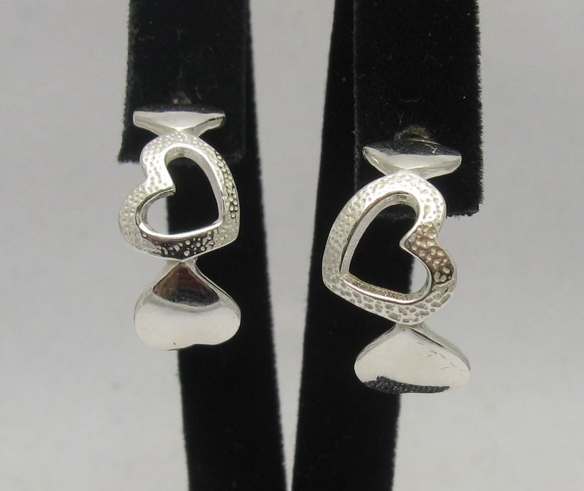Silver earrings - E000259