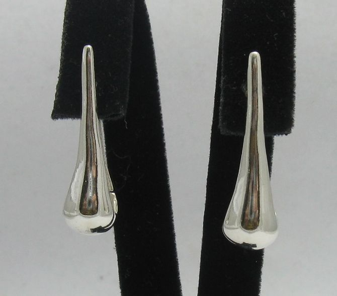 Silver earrings - E000276
