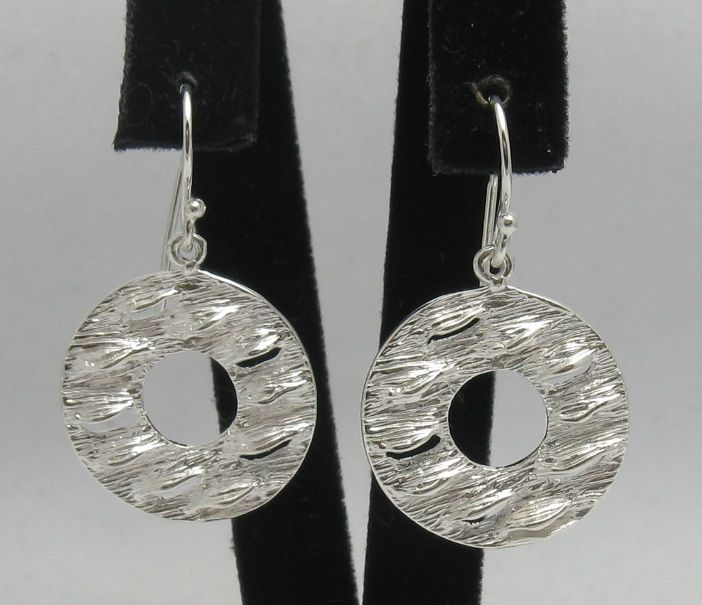 Silver earrings - E000277