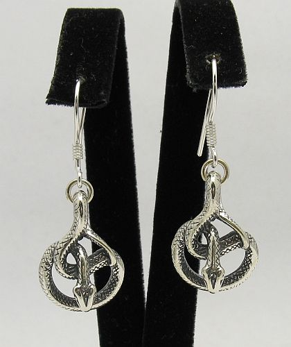Silver earrings - E000295