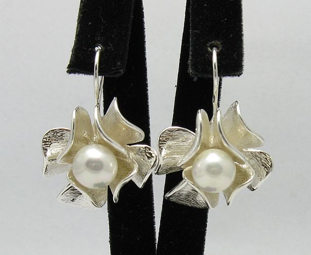 Silver earrings - E000296