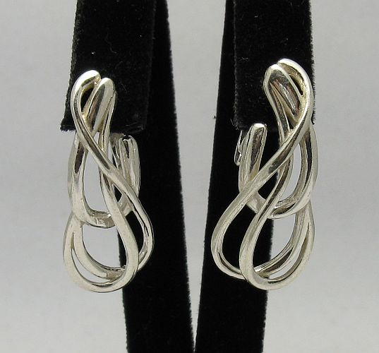 Silver earrings - E000297