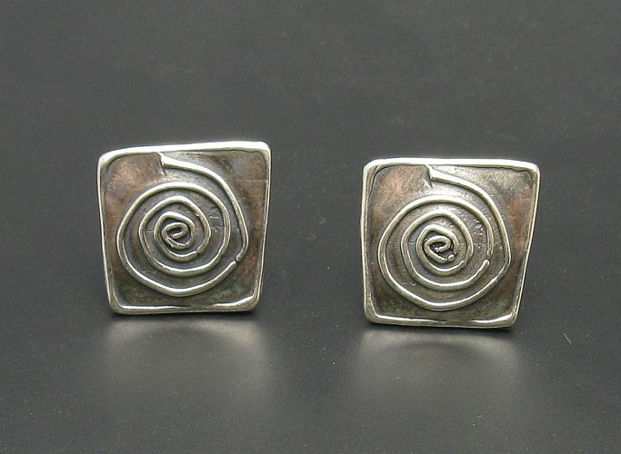 Silver earrings - E000299