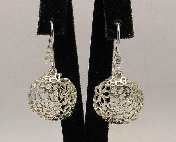 Silver earrings - E000307