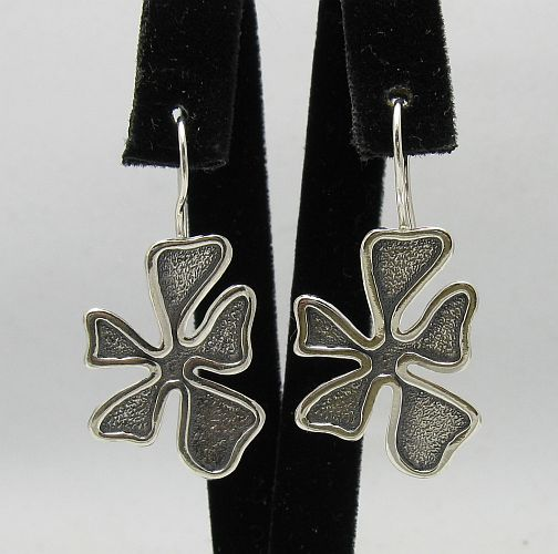 Silver earrings - E000316