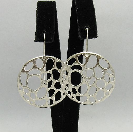 Silver earrings - E000334
