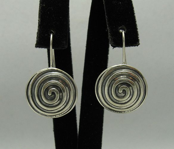 Silver earrings - E000338