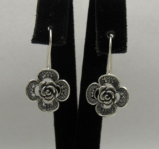 Silver earrings - E000349