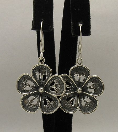 Silver earrings - E000354