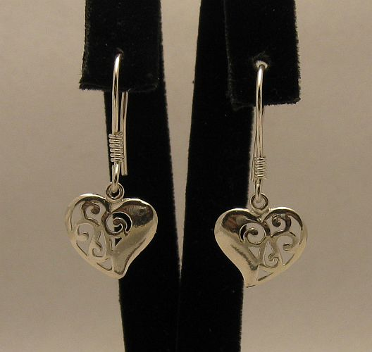 Silver earrings - E000356