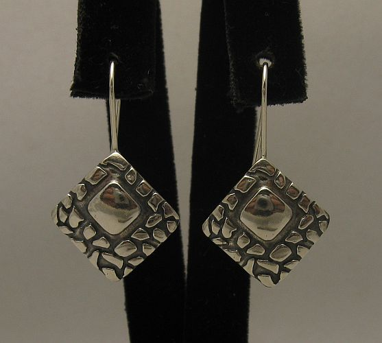 Silver earrings - E000358