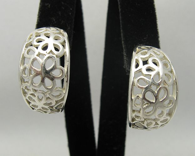 Silver earrings - E000382