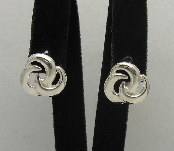 Silver earrings - E000395