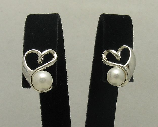 Silver earrings - E000405