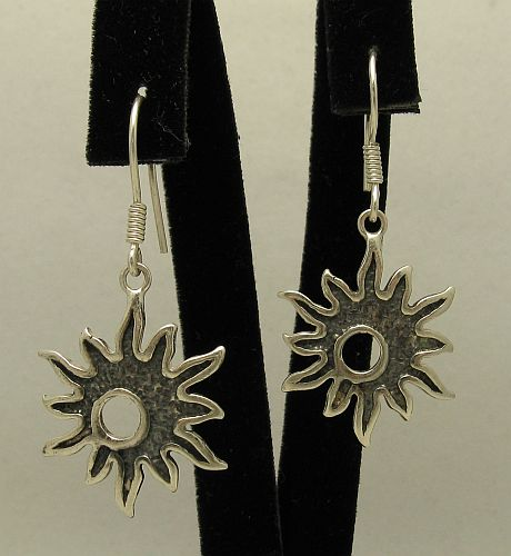 Silver earrings - E000416