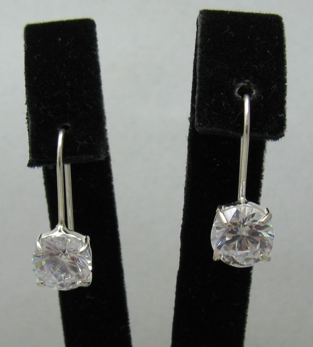 Silver earrings - E000425