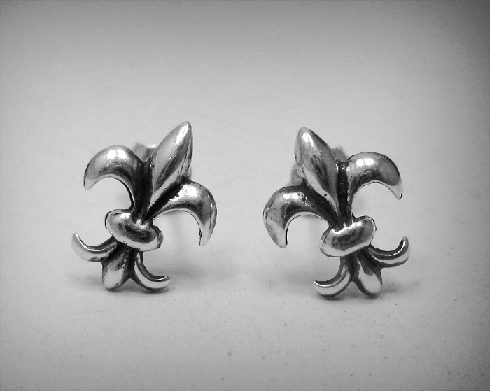 Silver earrings - E000451