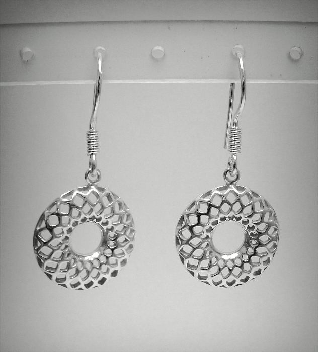 Silver earrings - E000453