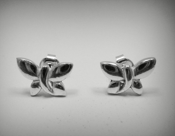 Silver earrings - E000459