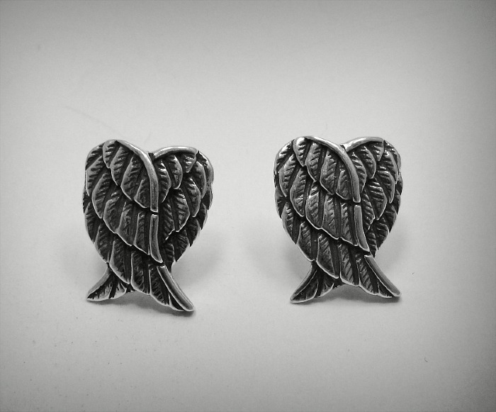 Silver earrings - E000460