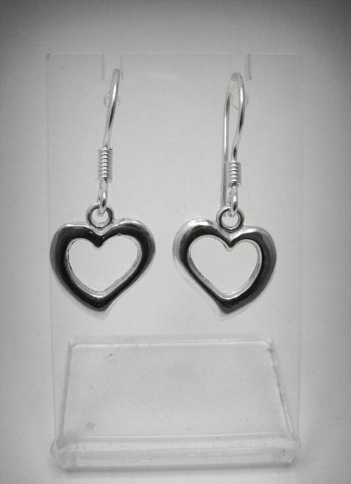 Silver earrings - E000465