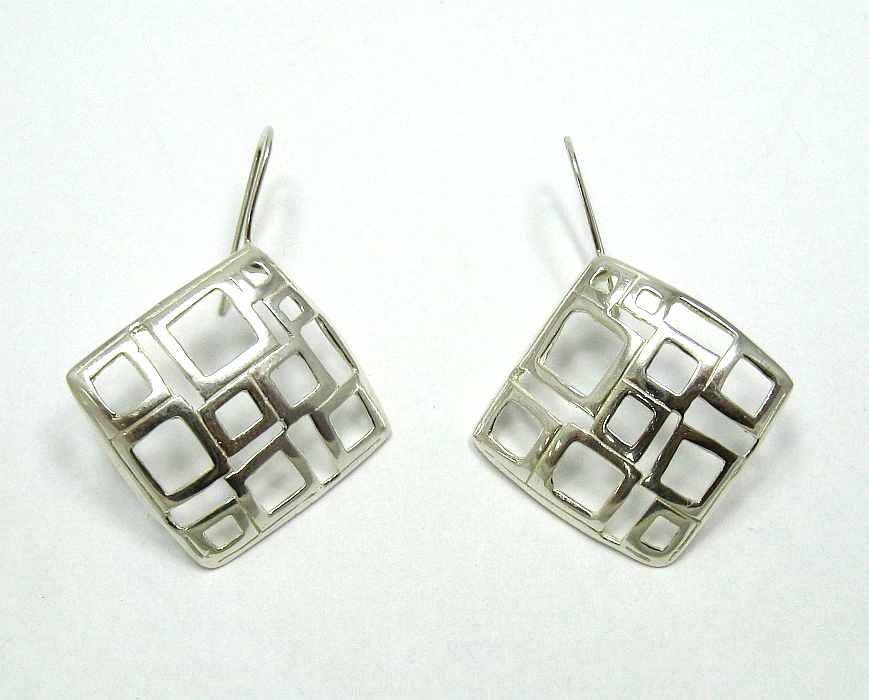 Silver earrings - E000471