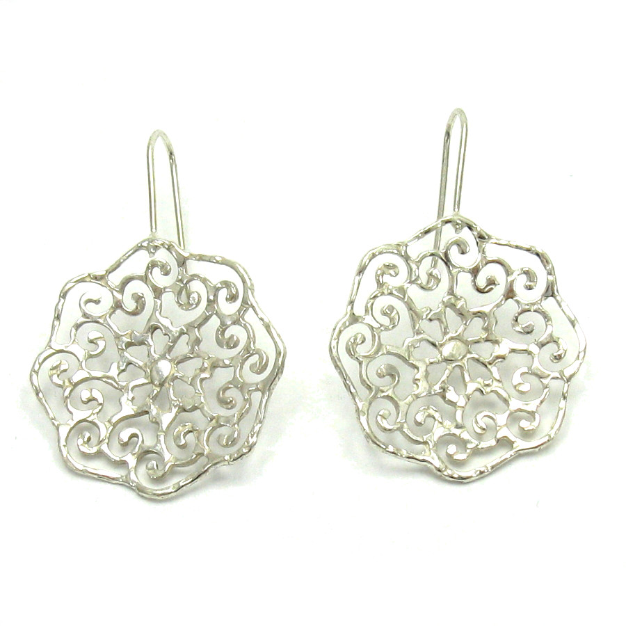 Silver earrings - E000476