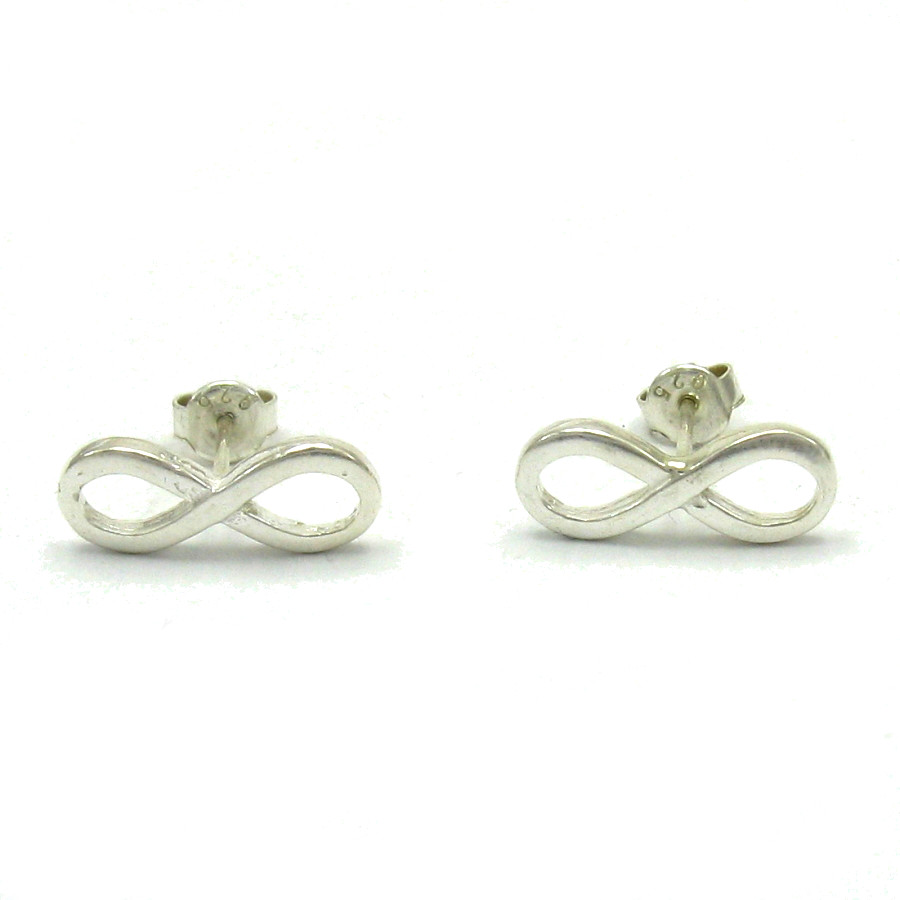 Silver earrings - E000477