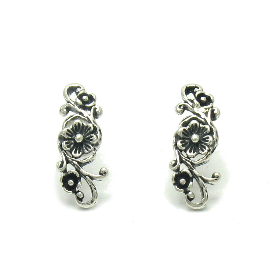 Silver earrings - E000480
