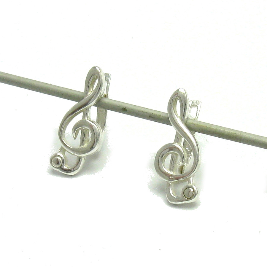 Silver earrings - E000487