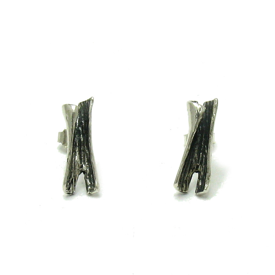Silver earrings - E000501