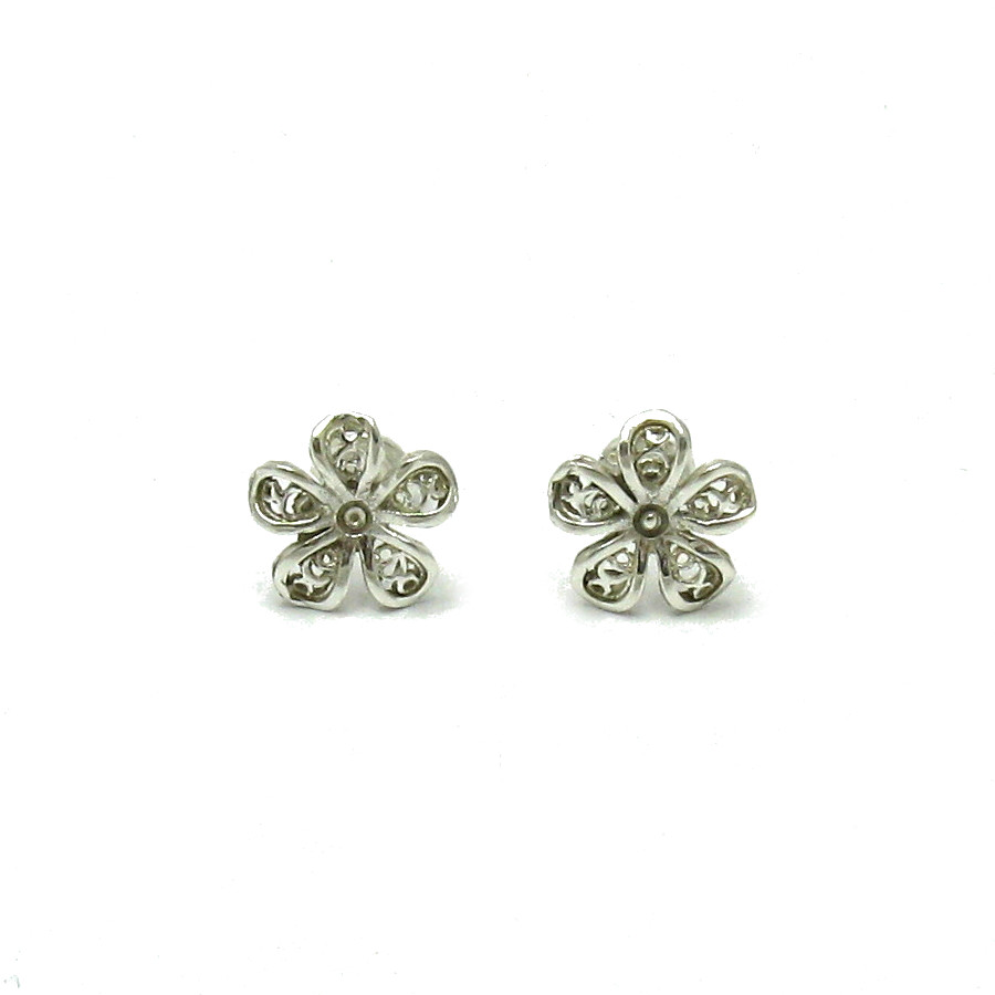 Silver earrings - E000502