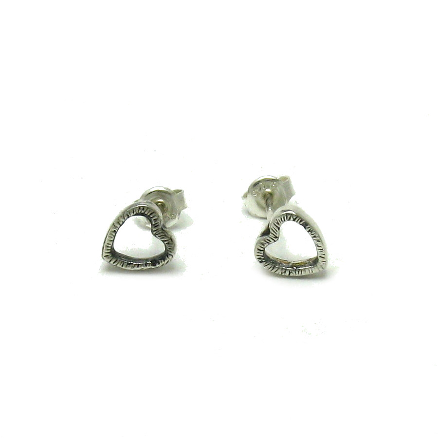 Silver earrings - E000509