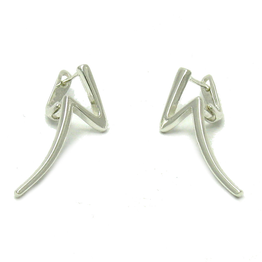 Silver earrings - E000510