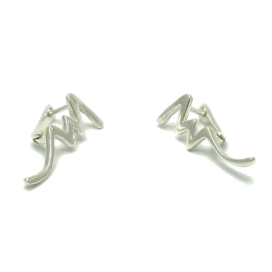 Silver earrings - E000511