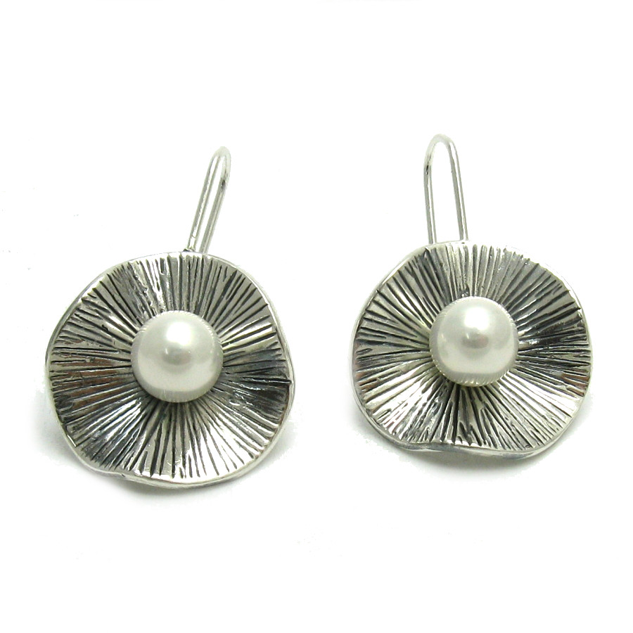 Silver earrings - E000520