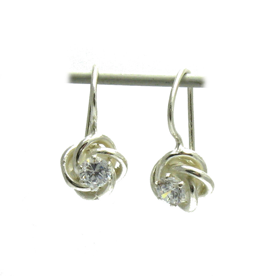Silver earrings - E000527