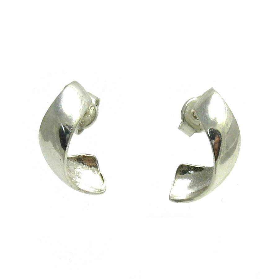 Silver earrings - E000529