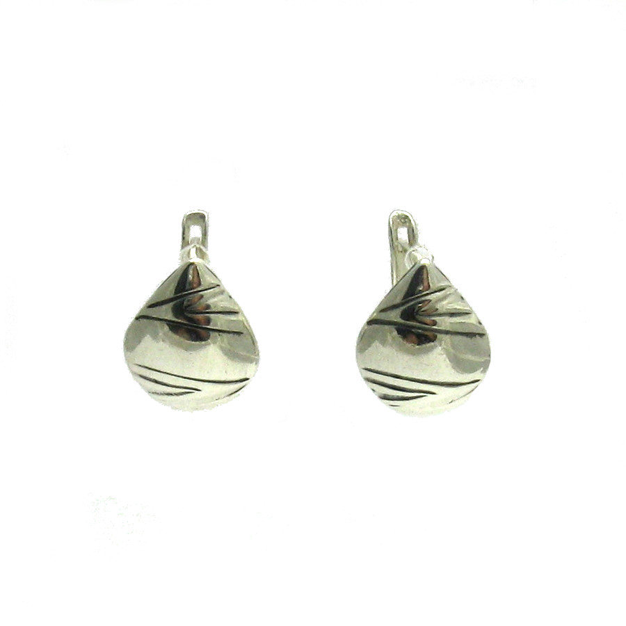 Silver earrings - E000530
