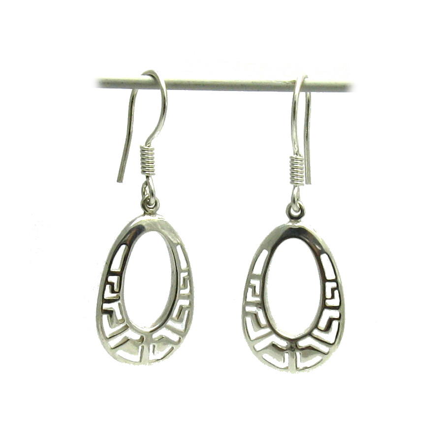 Silver earrings - E000531