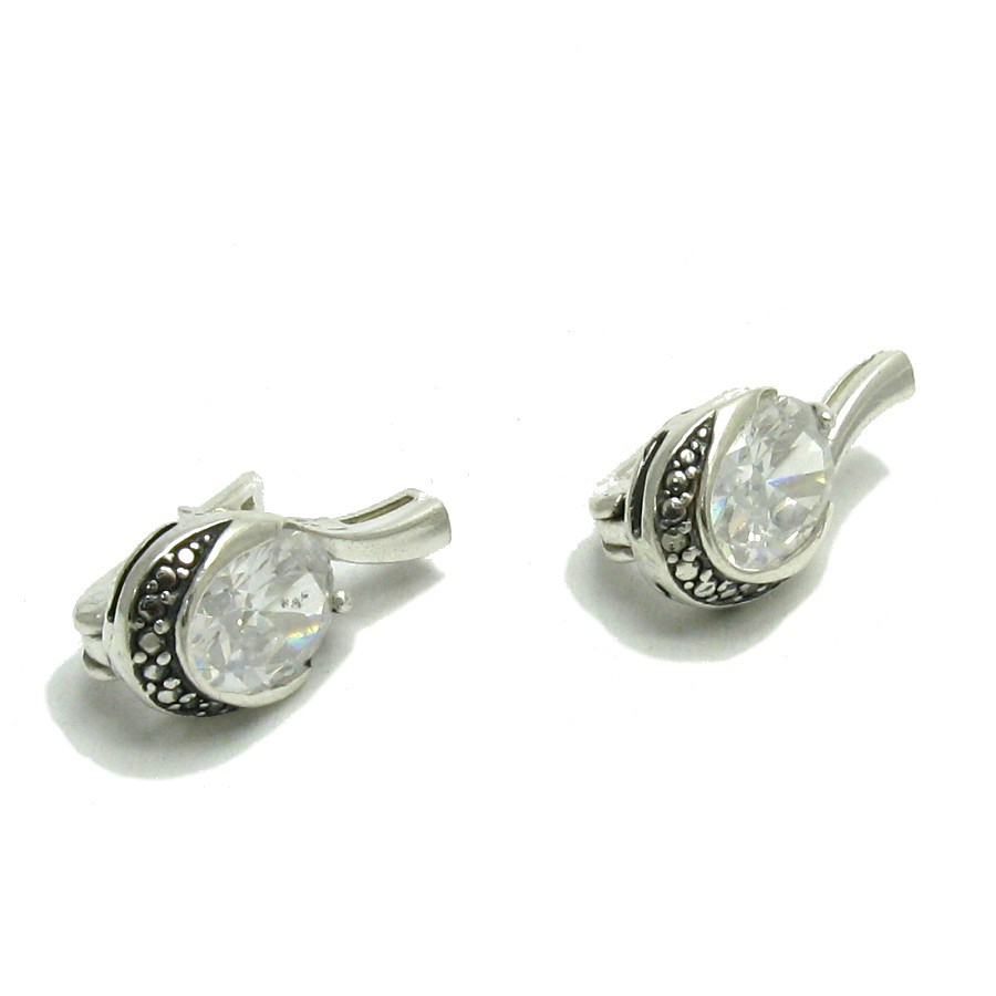 Silver earrings - E000532