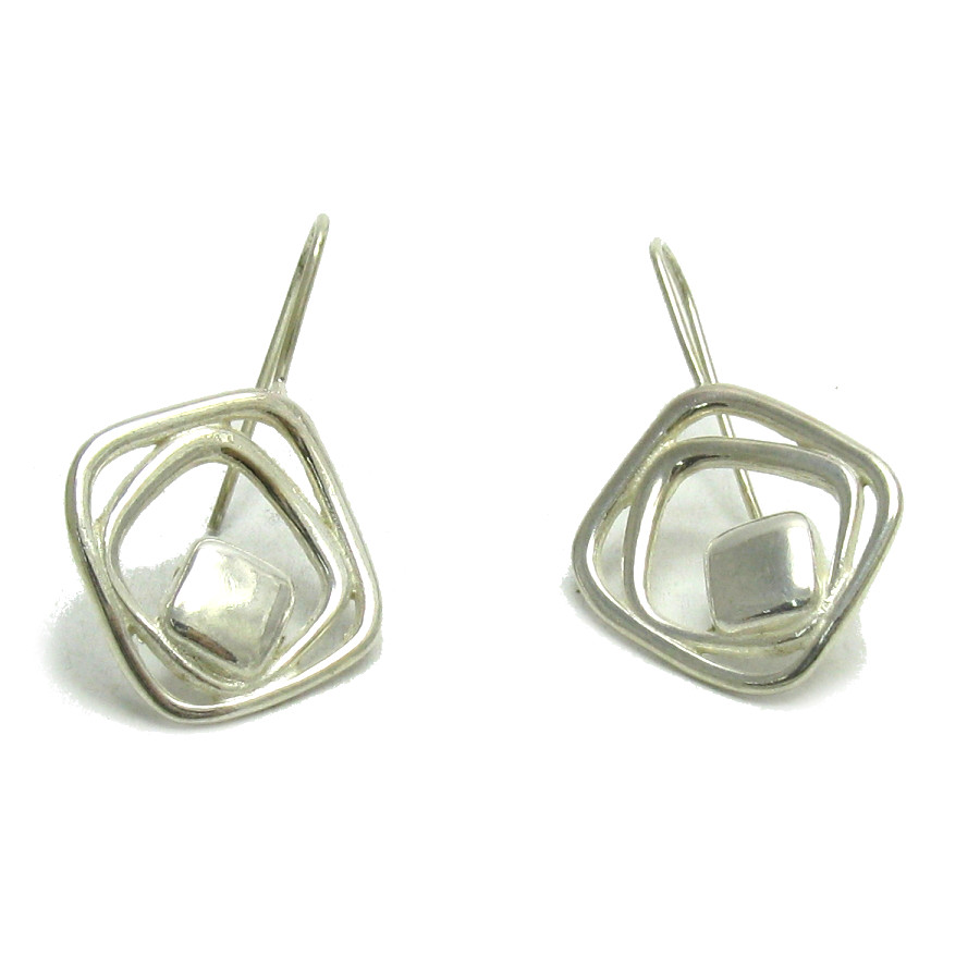 Silver earrings - E000536